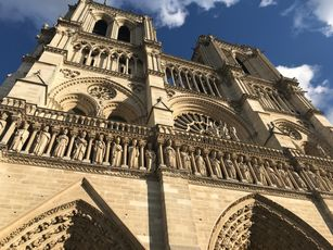 Notre Dame de Paris, Westfassade, ©. Striegel